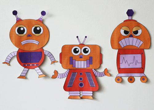 emotionbots paper craft