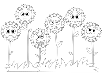 Emotion Coloring Page 4 Coloring Pages Printable   250x333